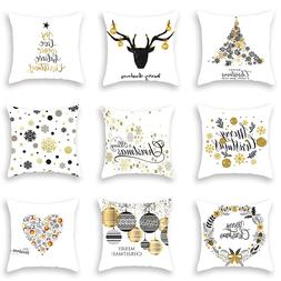 Christmas Decorative Pillowcases Polyester Merry Christmas T