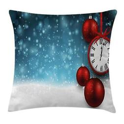 Clock Throw Pillow Cases Cushion Covers Ambesonne Home Decor