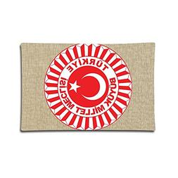 LoveoorheebGH Coat Of Arms Of Turkey Home Decor Sofa Cotton