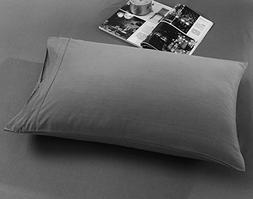 Do&Get Home Collection Solid Pillowcase Set, Double Brushed