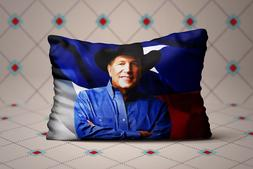 Cool George Strait American King of Country Music Zippered P