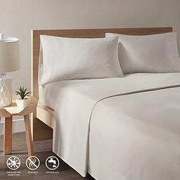 Copper Infused Bed Sheets - Khaki Full Size Sheets Set With