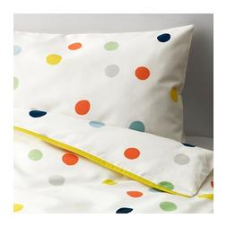 IKEA Crib Bedding DROMLAND Duvet Cover Set Includes One Duve