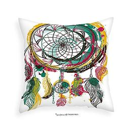 VROSELV Custom Cotton Linen Pillowcase Ethnic Native America