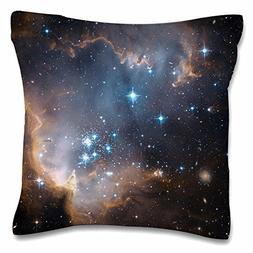 Decorative Square Pillow Covers Cushion Cover Colorful Galax