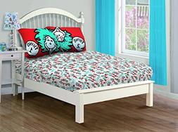 Dr. Seuss Cat in the Hat, Covers Twin Sheet Set Including: 1