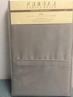 Ralph Lauren Dunham Sateen 300 TC Pillowcases - Dove Gray -