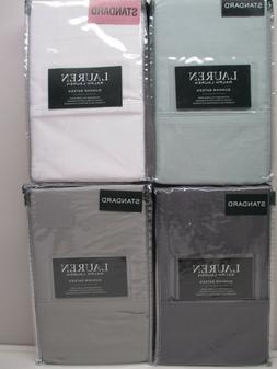 Ralph Lauren Dunham Sateen set of 2 standard pillowcases 300