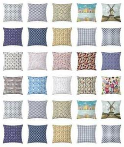 Dutch Throw Pillow Cases Cushion Covers by Ambesonne Home De