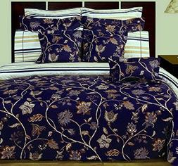 Duvet Cover Set and Pillowcases 400 Thread Count 100 Egyptia