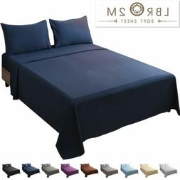 Flat Sheet with Pillow Cases Fitted Sheet Bedding Set Cal Ki