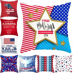 <font><b>American</b></font> Freedom Day Square Throw <font>