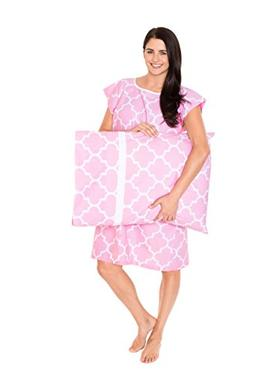 Gownies - Delivery Maternity Hospital Gown Set Labor Kit wit
