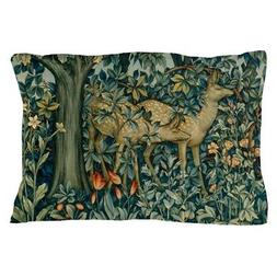 CafePress Greenery By William Morris Pillow Case