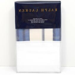 Ralph Lauren Hagan Stripe King Pillowcase Bedding