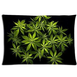 Home Decoration Throw Pillows Cases Cannabis Marijuana Weed