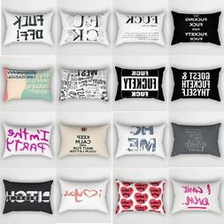 Hot sale letters pattern <font><b>pillow</b></font> <font><b