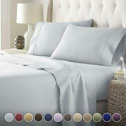 HC COLLECTION-Hotel Luxury Bed Sheets Set 1800 Series Platin