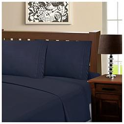 Superior Infinity Embroidered Luxury Soft, Cooling 100% Brus