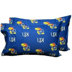 Kansas Printed Pillow Case -  - Solid by College Covers