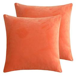 Rythome Set of 2 Kids Comfortable Throw Pillow Cover for Bed