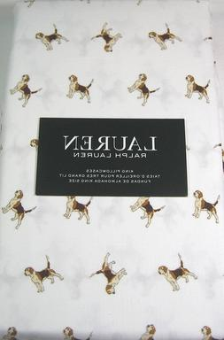 king pillowcases cotton beagle dogs