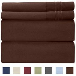 Twin XL Sheet Set - 3 Piece - Fits College Dorm Rooms - Hote