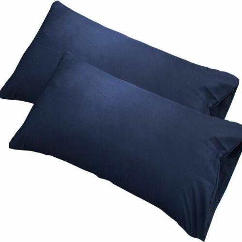 1/2 pcs/Set Pure Cotton Bed Case Pillow Covers Soft