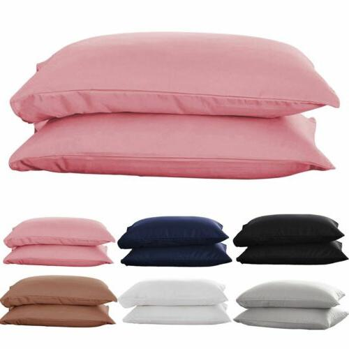 1/2pcs Pure Cotton Bed Pillow Case Pillow Covers Ultra Soft