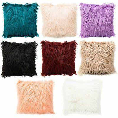 Fur Velvet Throw Cushion Cover Decors