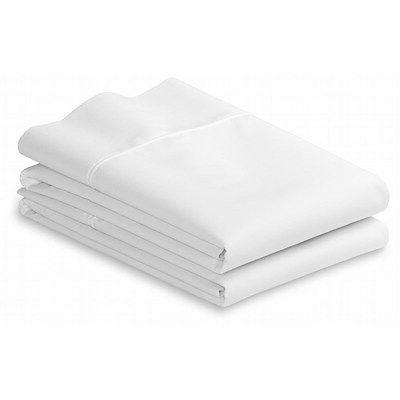 Pair Standard Pillow Cases 100% Cotton Wider Than Most For E