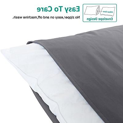 """NTBAY Brushed Pillowcases 4, Soft Cozy, 20""""x"""