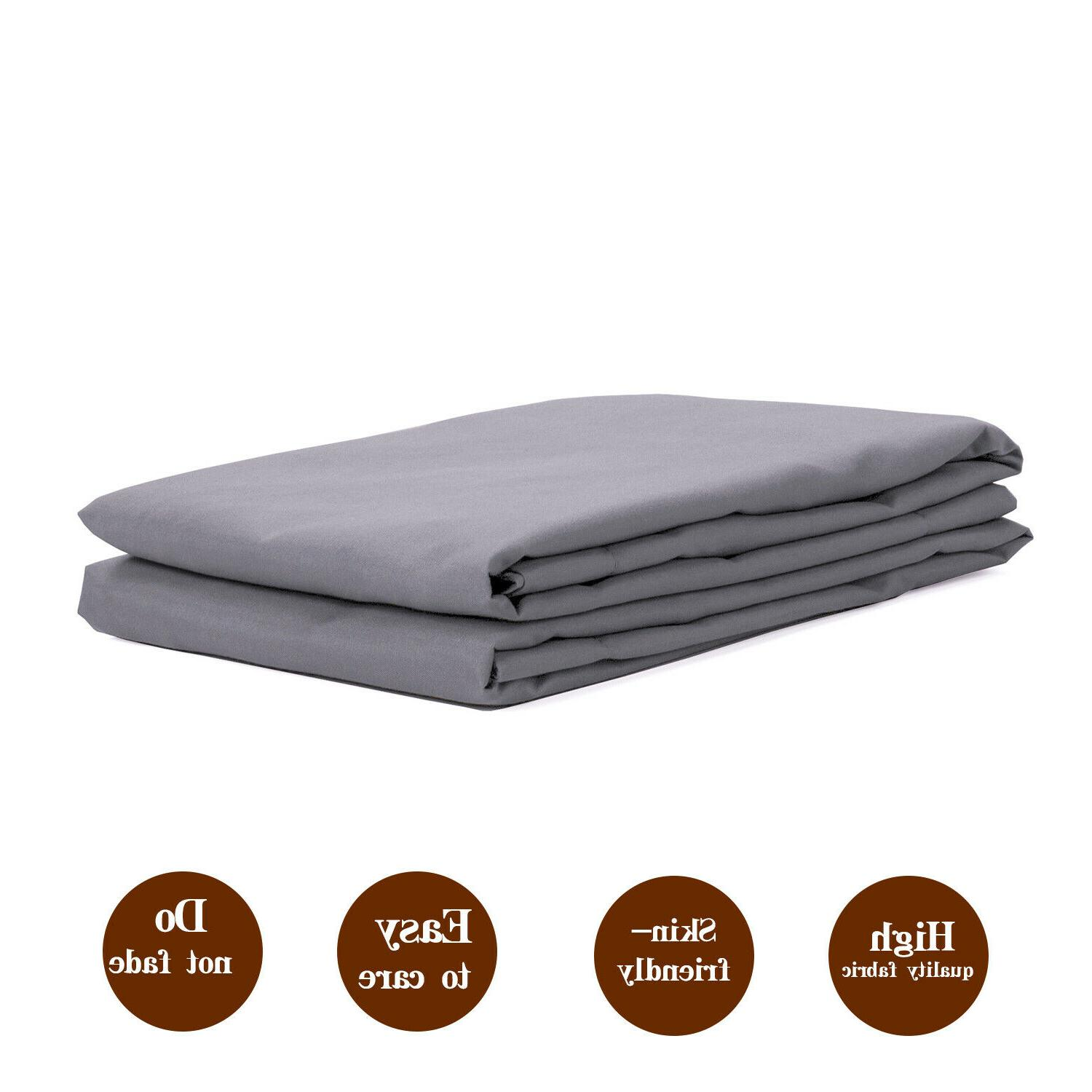NTBAY 100% Brushed Microfiber Standard Pillow Set of