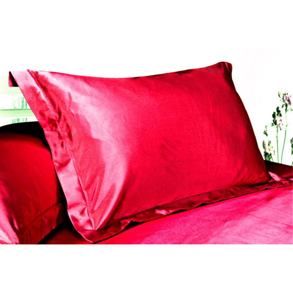 100% Pillow Cases Cushion Bedroom