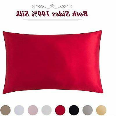 100% Pure Mulberry Silk Pillowcase 19 Pillow Cases