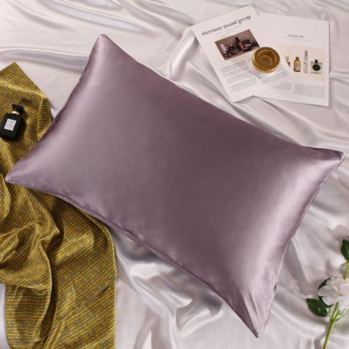 100% Silk Pillow Cover Mulberry Pure Pillowcase