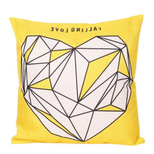 "15 Designs 2PCS 18"" Square Cases Sofa Cushion Home"