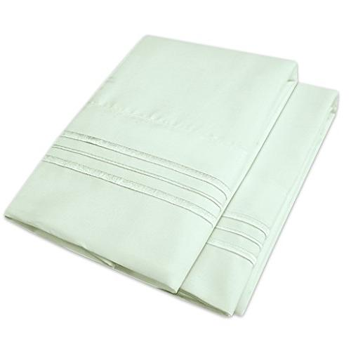 1500 supreme bed pillowcases