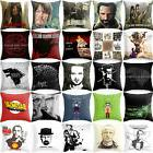 18' Breaking Bad Wolf Polyester Sofa Pillow Cases Cushion Co