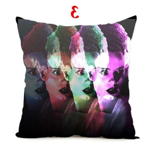 18 Inch Frankenstein Scary Theme Cushion Cover Pillowcase