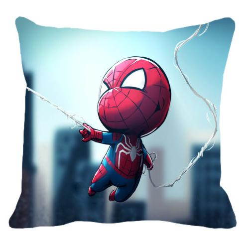 18 Pillow Superhero Spiderman Sofa Cushion