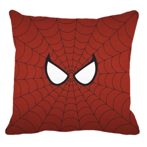 Superhero Spiderman Cushion Pillowcase