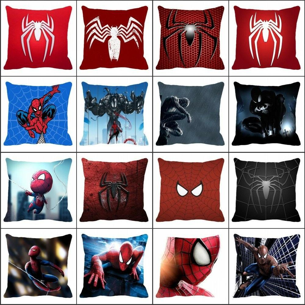 18 inch pillow case superhero spiderman pattern