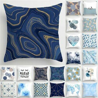 18'' Nordic Pillow Cases Polyester Cover Sofa