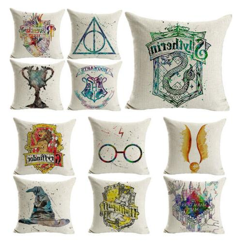 """17"""" Pillow Potter Printed Cushion Cover Decor"""