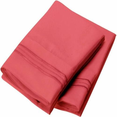 Mellanni Collection Pillowcase Stain Resistant
