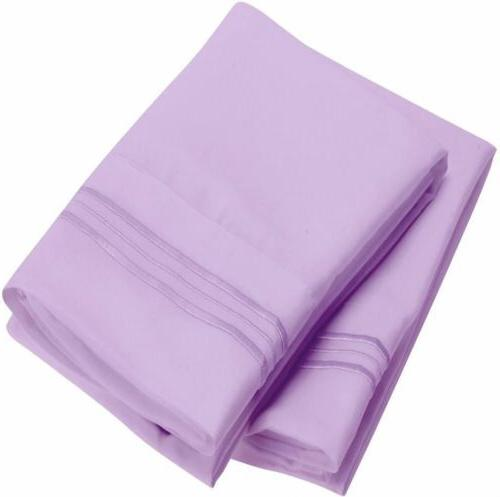 Mellanni 1800 Collection Pillowcase Stain Resistant