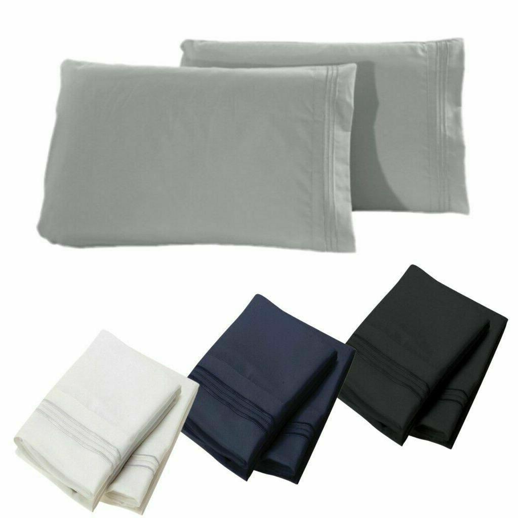 1800 series pillowcases 2 pillow cases per