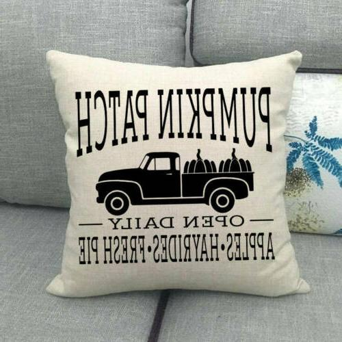 "18x18"" Car Throw Pillow Case Truck Cushion Decor"