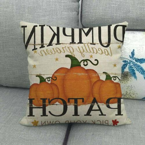 "18x18"" Harvest Car Pillow Truck Cushion Cover Decor"
